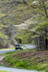 Spring scenes along the Blue Ridge Parkway April 18, 2019.
