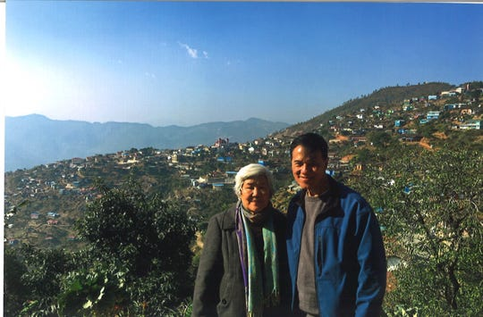 Anne and Edward Thawnghmung, who moved to Battle Creek from Myanmar in 1980, recently went to Falam, Myanmar to talk to officials about a sister city relationship with Battle Creek.