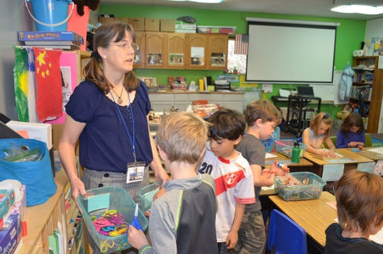 Heidi Blozan at Artspace Charter School