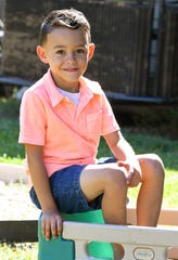 Kaiden Acevedo, 5, of Palm Bay is the Space Coast Parent Child of the Month for May, 2019.