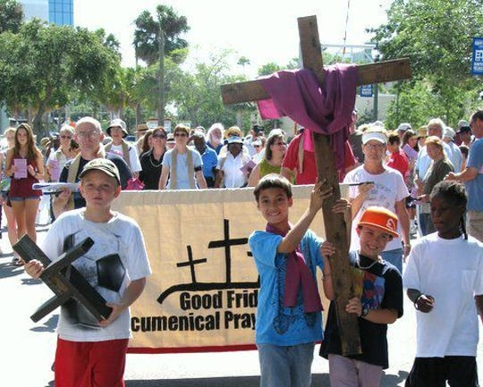 Hundreds are expected for a Good Friday Prayer Walk in downtown Melbourne
