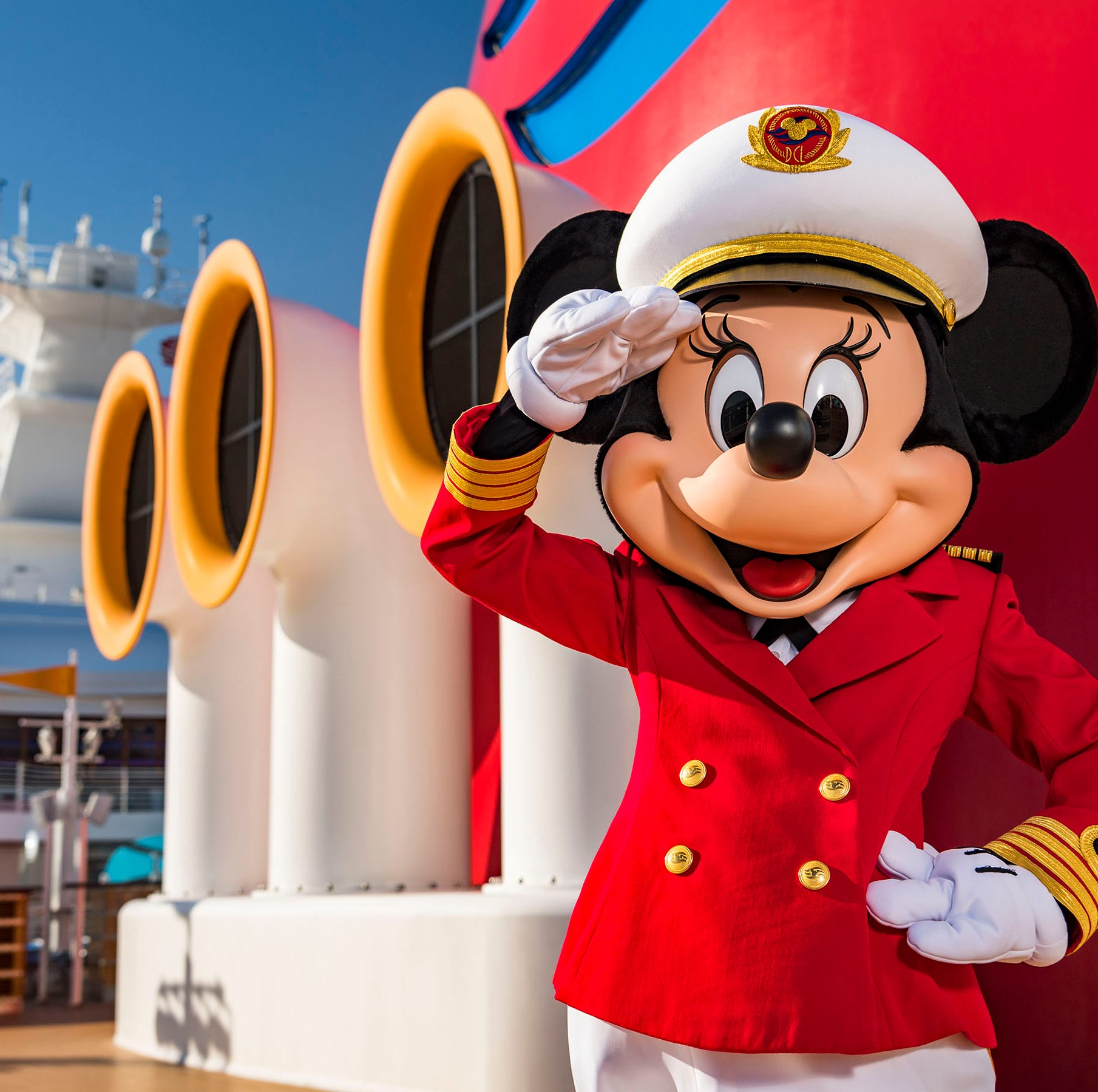 Disney Cruise Line has a new captain — Minnie Mouse takes the helm
