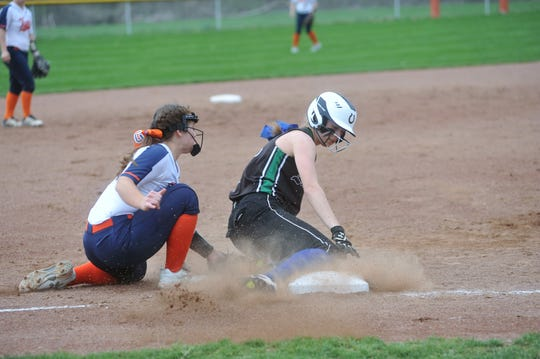 Kate Schieber rarely let a ball go by her at third base committing just three errors last season and recording 87 putouts.