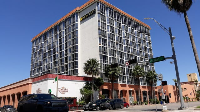 Has Corpus Christi's historic Bayfront hotel been sold?