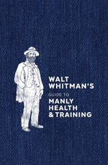 Cover of 'Walt Whitman's Guide to Manly Health & Training,' published in 1858.