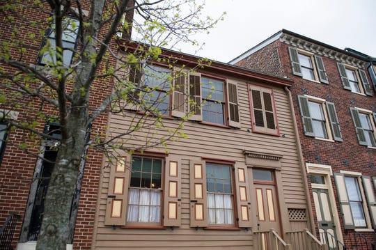The Walt Whitman House in Camden, N.J. Wednesday, April 17, 2019.