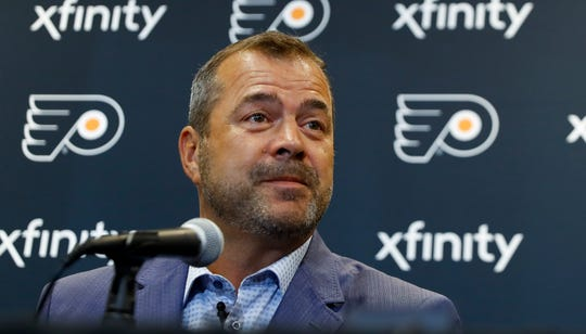 Alain Vigneault had at least one other suitor seriously interested in his services after a year not coaching in the NHL. He saw Philadelphia as a place where he could  finally win a Stanley Cup.