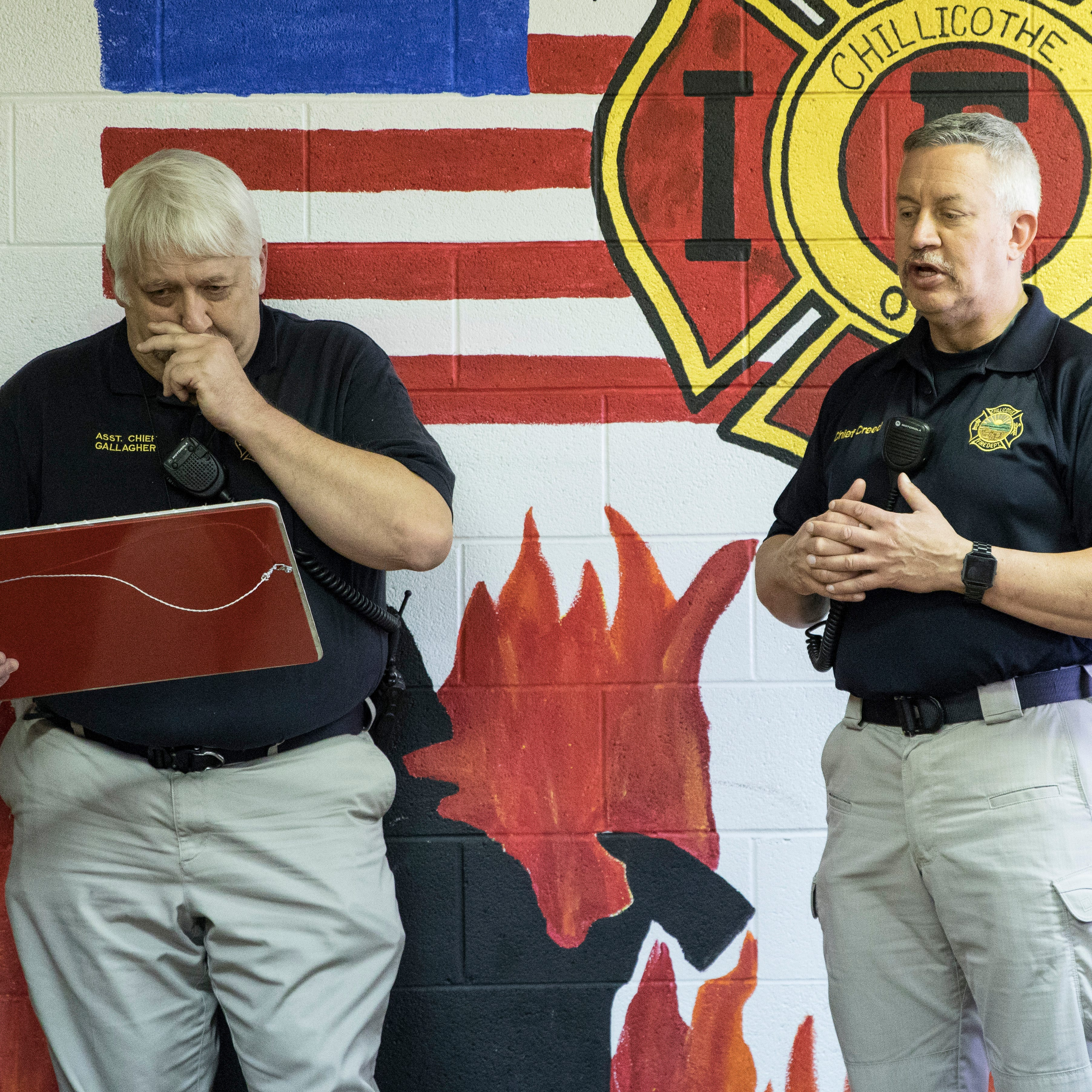 Assistant Chillicothe fire chief retires after 33-year career