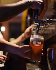 Big Ash Brewing with its unique wall of self-serve taps opens this summer in Anderson Township.