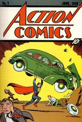 Superman made his debut in the first issue of Action Comics on April 18, 1938.