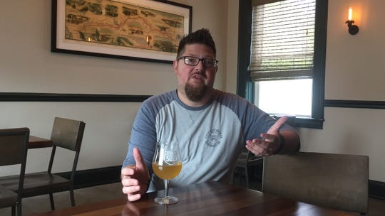 Del Hall, director of sales at Fifty West Brewing Company, gave up everything for his Lenten fast. Except beer.