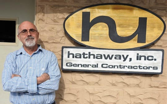Chuck Hathaway, owner of Hathaway Inc., was named Coshoctonian for 2019. He was recognized for ways he has personally and professionally  contributed to the community. Among Hathaway's many service projects are support of the arts, youth and economic development of the local area.