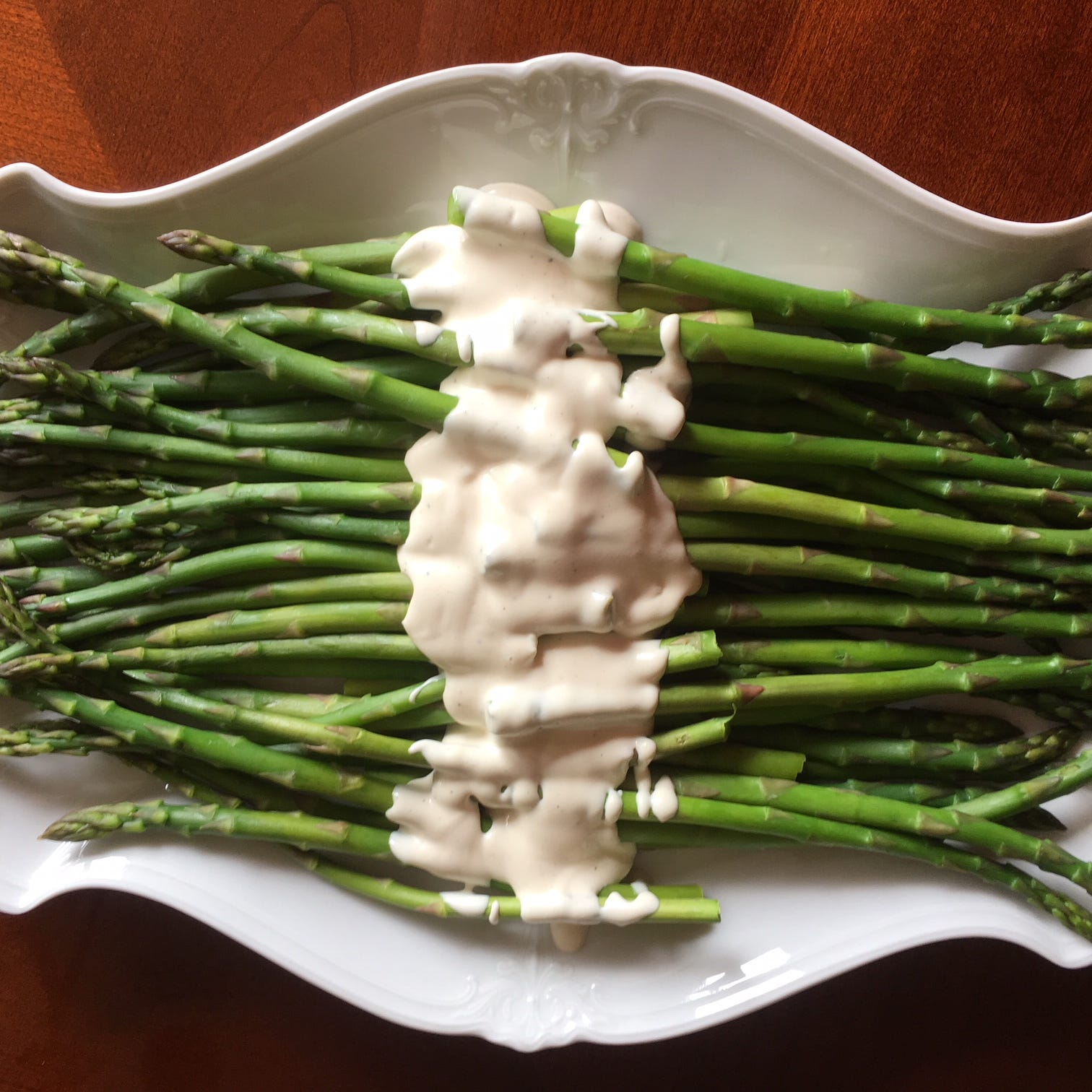Load up on asparagus for it's healthy does of folate
