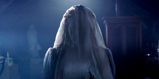 "You're in trouble when you see La Llorona (Marisol Ramirez) in ""The Curse of La Llorona."""