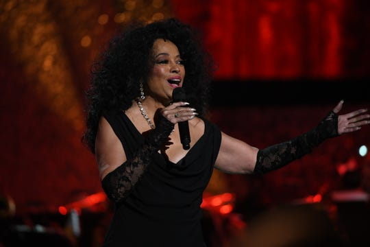 LOS ANGELES, CA - FEBRUARY 12:  Diana Ross performs onstage during Motown 60: A GRAMMY Celebration at Microsoft Theater on February 12, 2019 in Los Angeles, California.  (Photo by Michael Kovac/Getty Images)