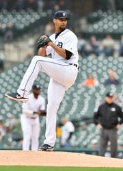 Tigers pitcher Tyson Ross