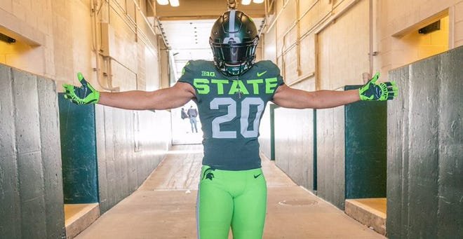 Four-star safety Darius Snow is Michigan State's third commitment in the 2020 class.