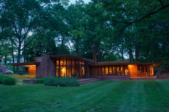 The Smith House, designed by Frank Lloyd Wright in 1949, was built by Detroit school teachers Melvyn Smith and Sara Stein. The family later donated the house to Cranbrook. It'll reopen for tours in May.