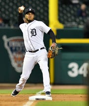 Jeimer Candelario returned to the Tigers on Tuesday after batting .357 during a 10-day stint with Triple-A Toledo.