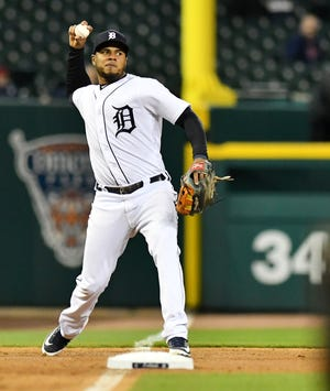 Jeimer Candelario is back with the Tigers after his second Triple-A stint this season.