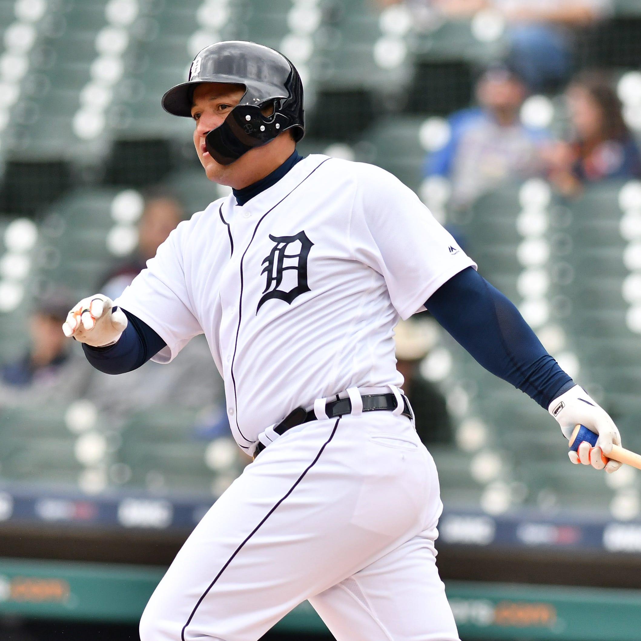 Miguel Cabrera, Nick Castellanos help Tigers vanquish five-game skid