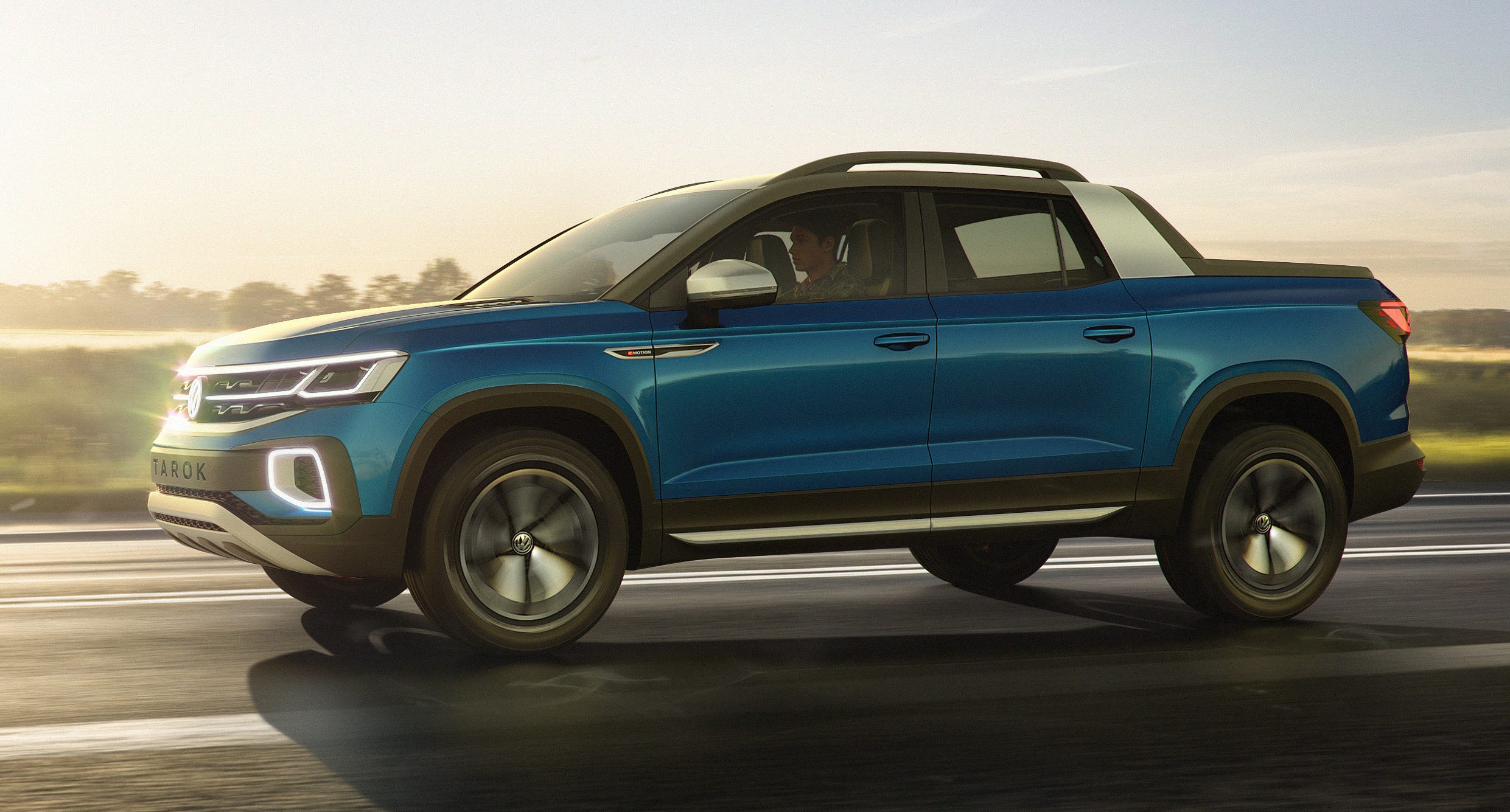 The VW Tarok pickup concept