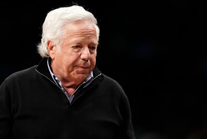 Prosecutors intend to release undercover video of Robert Kraft and others allegedly receiving sex acts at a Florida massage parlor, but that won't be soon or perhaps ever.