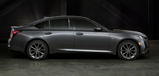 The Cadillac CT5 Sport