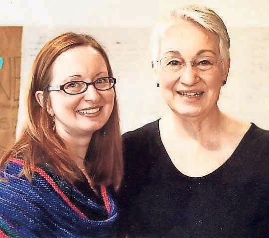 Becca Anderson, left, and her mother, Juliane Anderson.