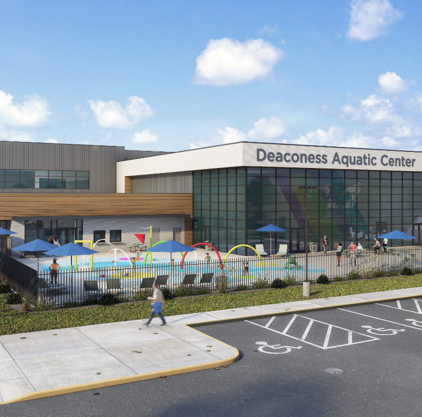First Look: Deaconess Aquatic Center initial designs released