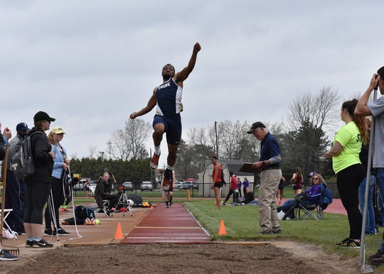 Ross grad Jeffery Barnett was national runner-up in the long jump three times.