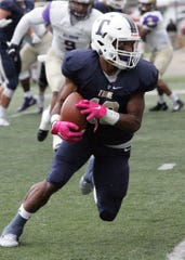 Ross grad Jeffery Barnett finished his career as the all-time leader in receiving yards at Trine.