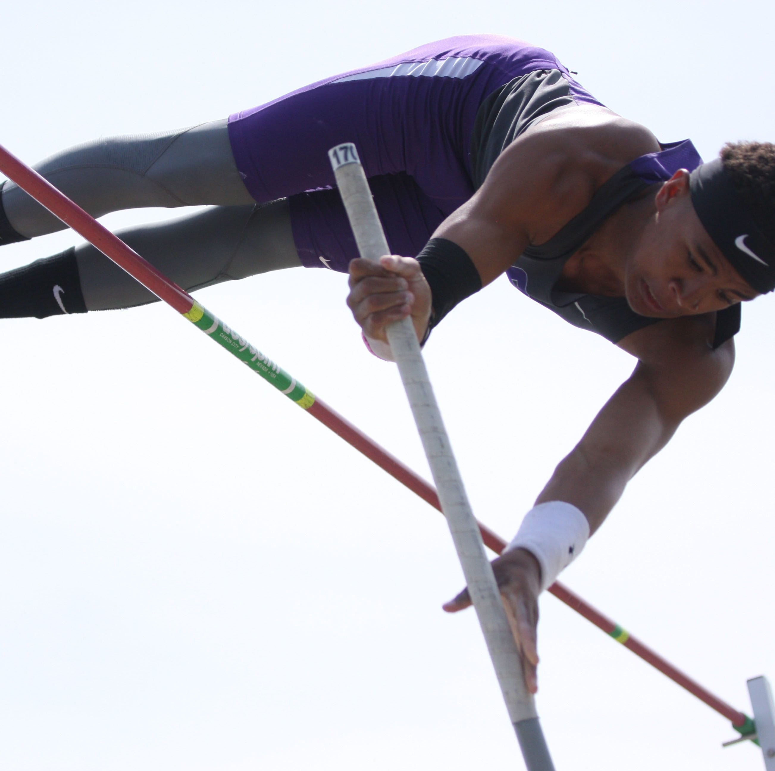 Jordan breaks 45-year-old pole vault record for Fremont Ross