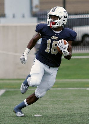 Ross graduate Jeffery Barnett returned five kickoffs for touchdowns in his career at Trine.