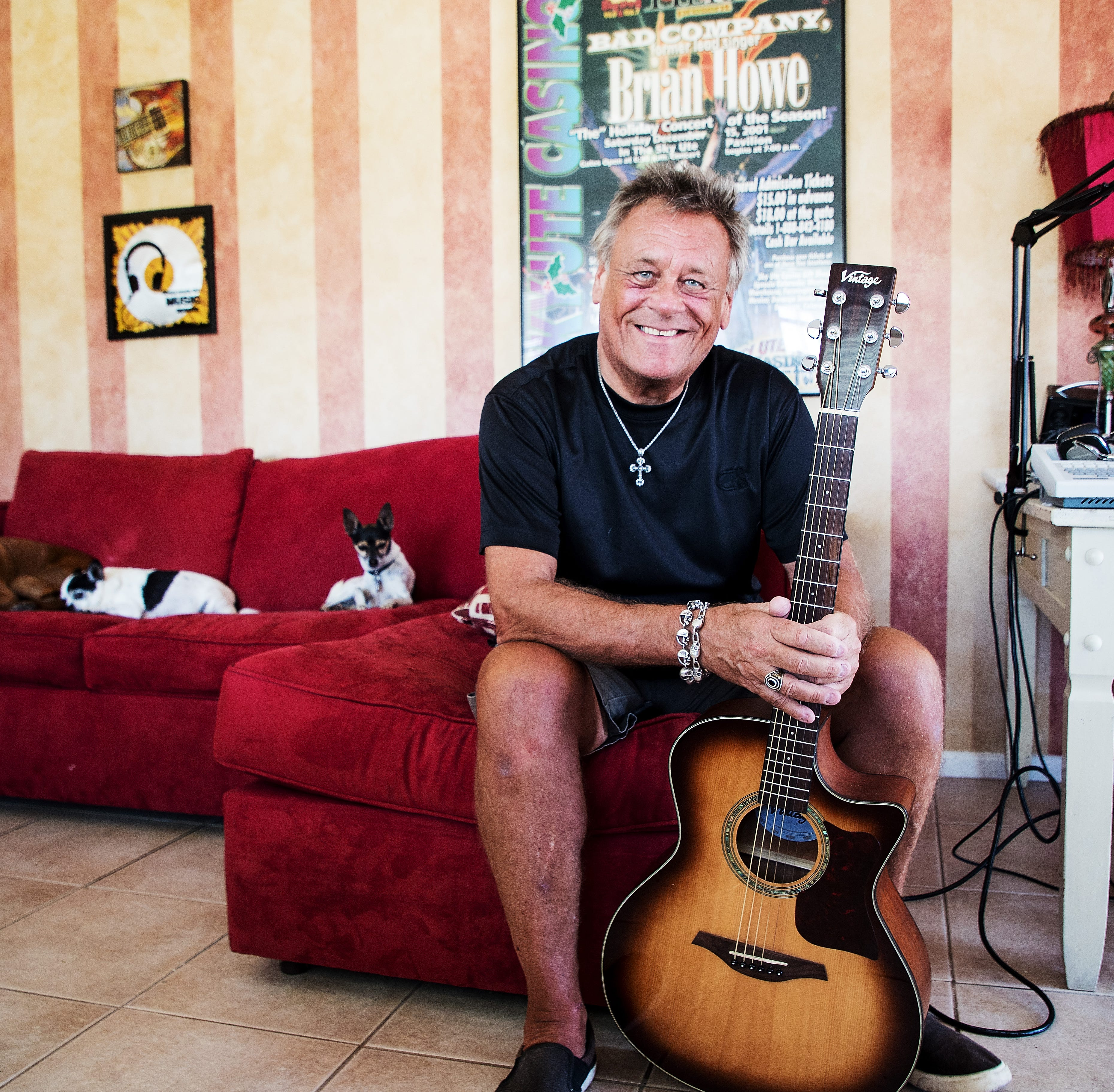 Former Bad Company singer Brian Howe plans to sell Fort Myers Beach house, donate to dogs