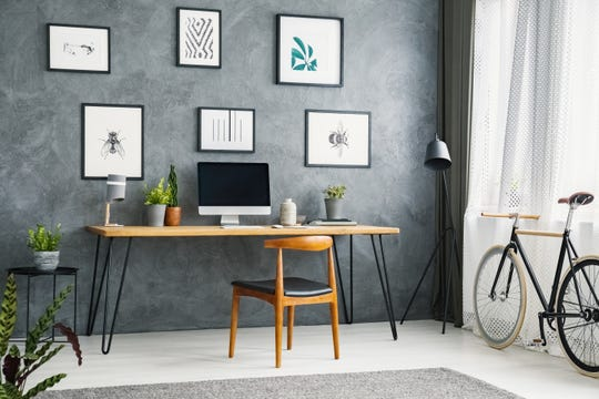 A good desk, a comfortable yet stylish chair and a functional, eye-catching bookcase or storage unit can go a long way in making your workspace feel like a productive area that blends in with the look and feel of your whole home.