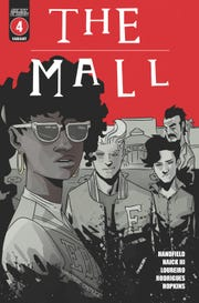 Lost boys exclusive cover of The Mall #4. Cover art by Walter Ostlie.