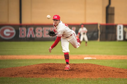 Greenville High pitcher Rocco Reid has compiled a 6-0 record this season with a 0.365 ERA.
