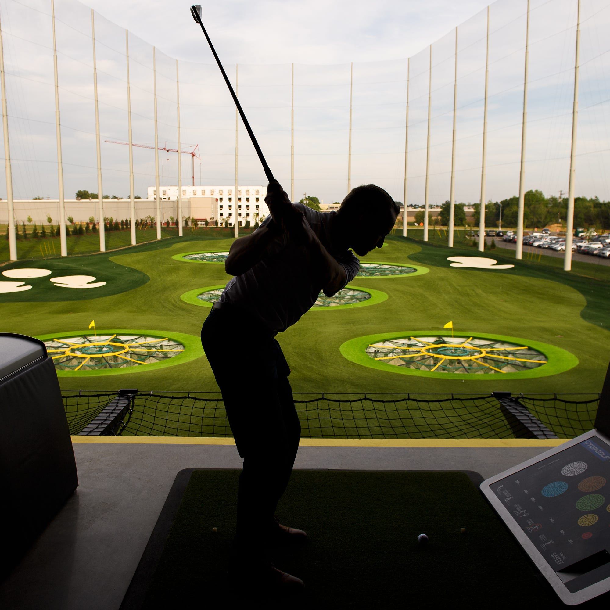TopGolf will soon open in Greenville. Here's a sneak peek of the venue