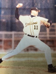 Chris Ramstead was a star pitcher and hitter for the Great Falls Stallions nearly 20 years ago.