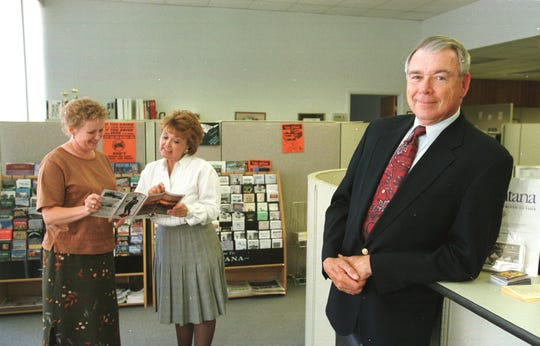 In 1999, Mike Labriola was Great Falls Area Chamber of Commerce interim president.