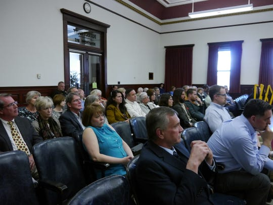 The courtroom was nearly full Thursday as triple-murderer Steven Wayne Keefe petitioned the court for re-sentencing.