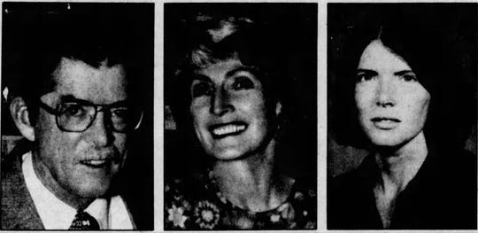 Dr. David McKay, his wife Constance McKay and their daughter Dr. Marian McKay Qamar were killed in a home south of Great Falls on Oct. 15, 1985.