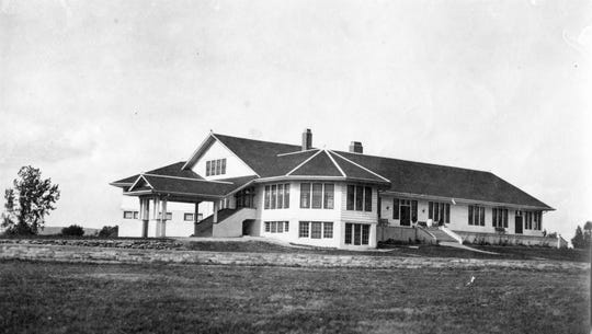 The Meadow Lark Country Club sits on what was Paris Gibson's Meadowlark Dairy.