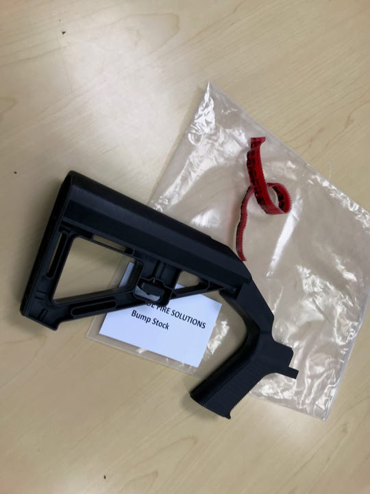 Guam Police Department will be collecting now-outlawed bumpstocks from residents at various precincts on April 22, April 24 and April 29.  Officials said people who relinquish bump stocks on these days won't face legal penalties.