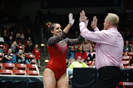 Rachel Smith, a Hernando, Mississippi, native, competes for Southern Utah University.