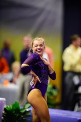 LSU gymnast Sarah Edwards is from Ocean Springs, Mississippi