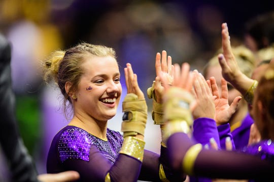 Mississippi native Sarah Edwards is one of the best vault competitors for LSU this season
