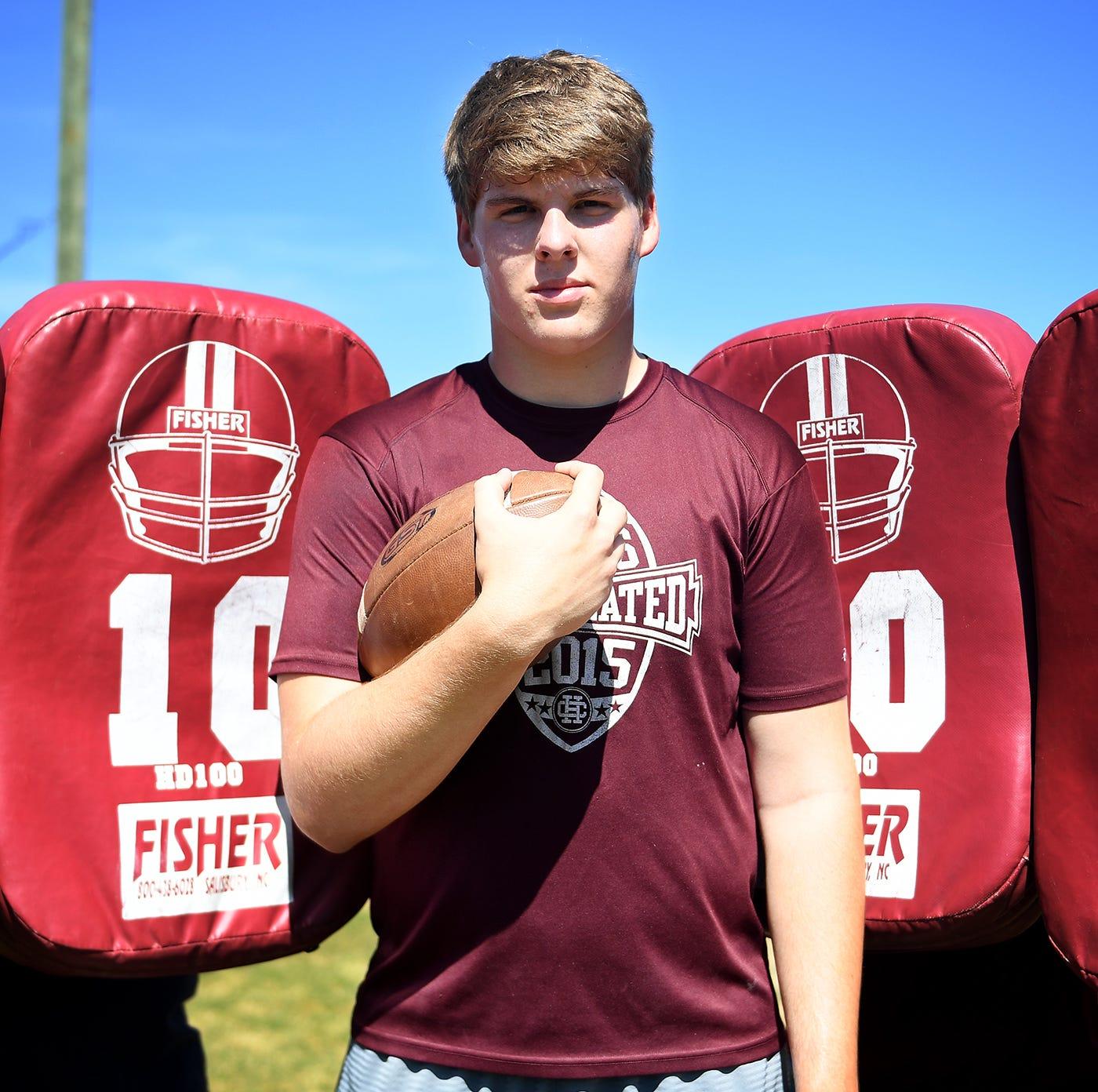 Hardin County sophomore TE Hudson Wolfe, a Tennessee football fan, has Vols, Alabama offers