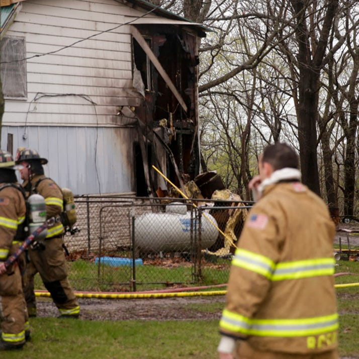 Fire damages rural Tippecanoe County house